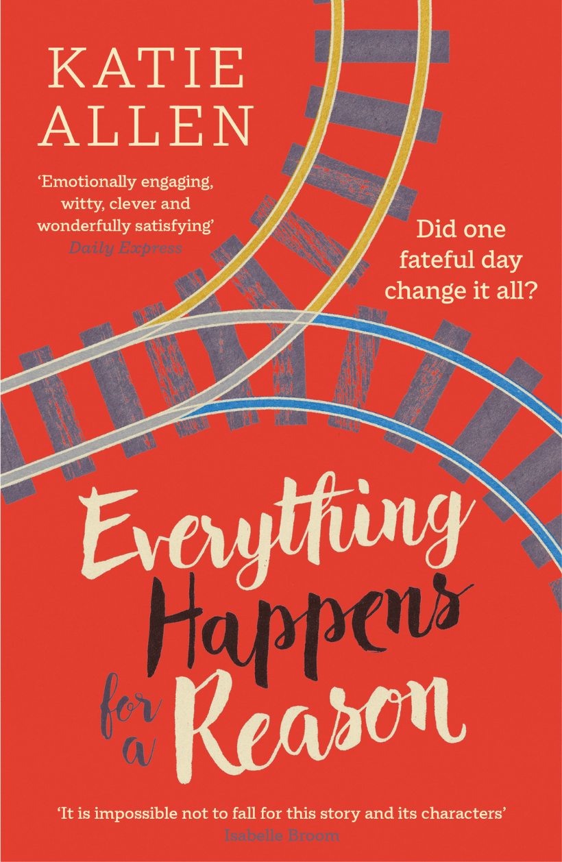 The cover of Everything Happens for a Reason, a book by Katie Allen