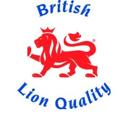 British red lion eggs logo